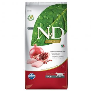 N&D Farmina Gato Adulto Pollo y Granada Grain Free