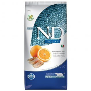 N&D Farmina Gato Adulto Pescado y Naranja Grain Free