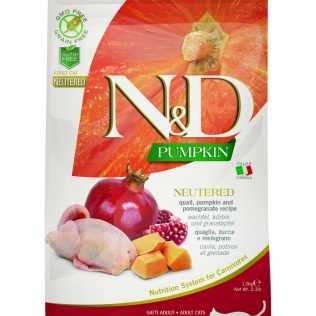 N&D Farmina Gato Adulto Codorniz y Granada Neutered Grain Free